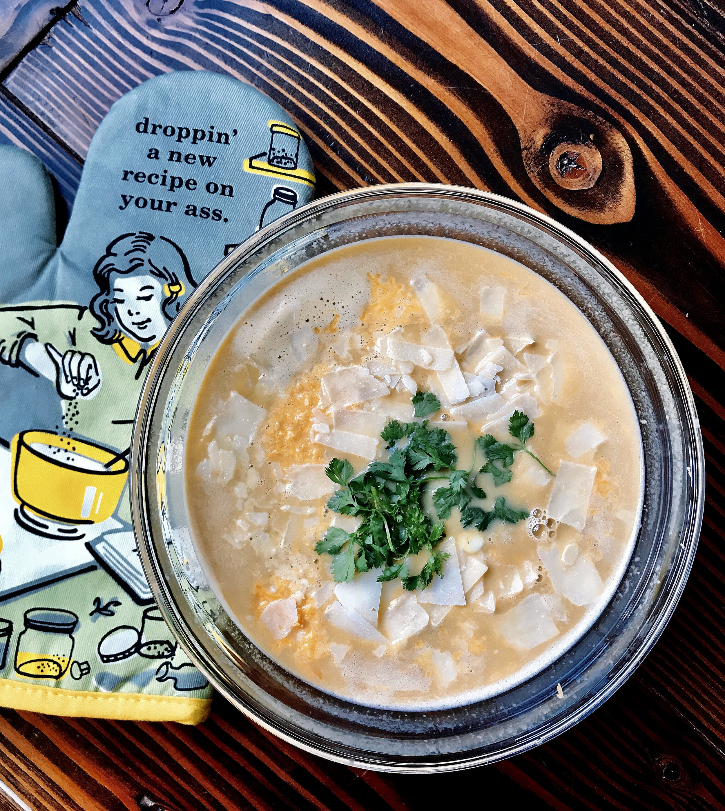 Creamed corn soup