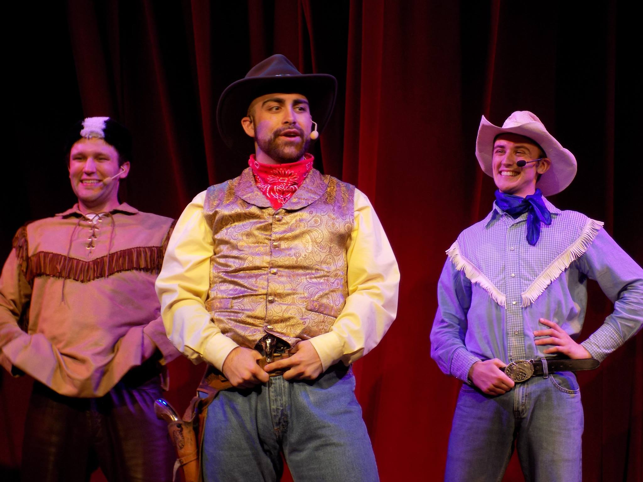 LUSTY LIL'S WILD WEST REVUE