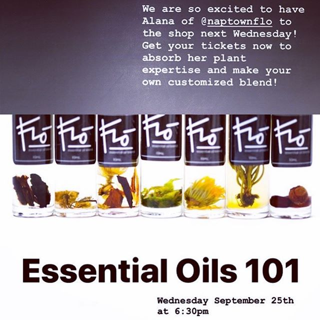 WORKSHOP NEXT WEDNESDAY It's been a while since I've taught on Essential Oils and I'm super excited to bring the topic back! With so much information out there, it's important to educate ourselves so we are using them safely, with reverence to the plants, and being wise consumers! 🌿🌿🌿🌿🌿🌿🌿🌿🌿🌿 Whether you're completely new to essential oils or have been using them for a long time, this workshop will have you feeling confident about, grateful for, and more connected to these beautiful gifts the earth has given us! 🌿🌿🌿🌿🌿🌿🌿🌿🌿 Sign up with @root31 to secure your spot! We'll be enjoying the evening on a covered porch, sipping tea, and basking in some sweet aromatherapy. Bring your mom! Bring a friend! Bring your awesome self! 🌿🌿🌿🌿🌿🌿🌿🌿🌿 #essentialoils #plants #plantpower #plantlove #indyworkshops #plantbased #gowiththeFLŌ