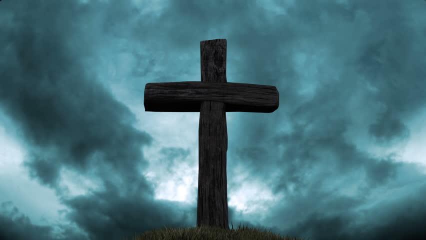 Jesus is the true victim.