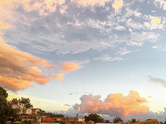Urban sunsets bathe the streets in golden light. #sunsets #sunrise_sunsets_aroundworld #sunset #sunsetpuertorico #bella #sky #nature #clouds #quecheverepr #rincon #puertorico #travel #travelgram #adventure #wanderlust #wanderlust2016 #adventureisoutthere  #travelphotography #travelpuertorico #sunsethunter #pueblo #rinconlife #pueblos