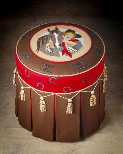 Beard Cowgirl Cameo Ottoman.jpg