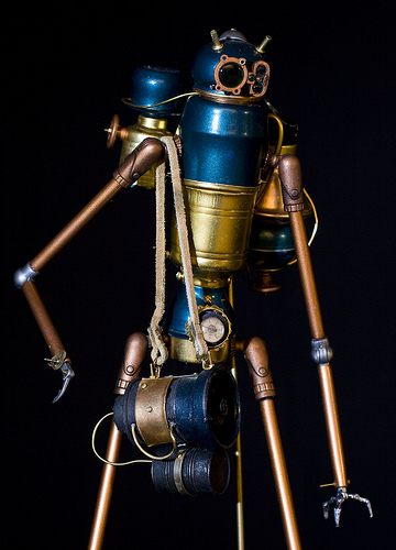 Antarctic Expedition Steam Automaton Robot  detail.jpg