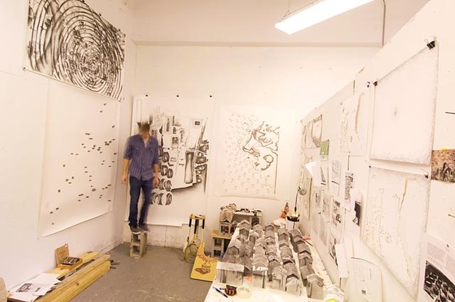 Jay Hollick in Studio