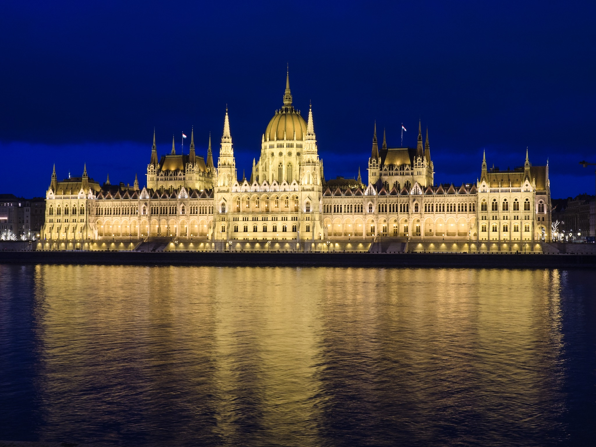 Budapest parliament, such a lovely building.
