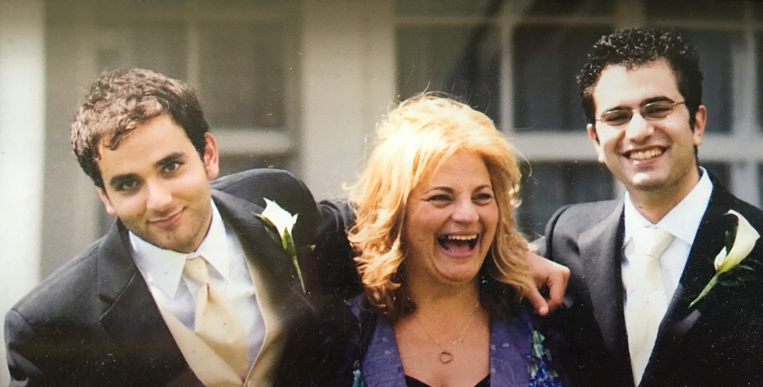 Karen and her two sons, David and Steven.