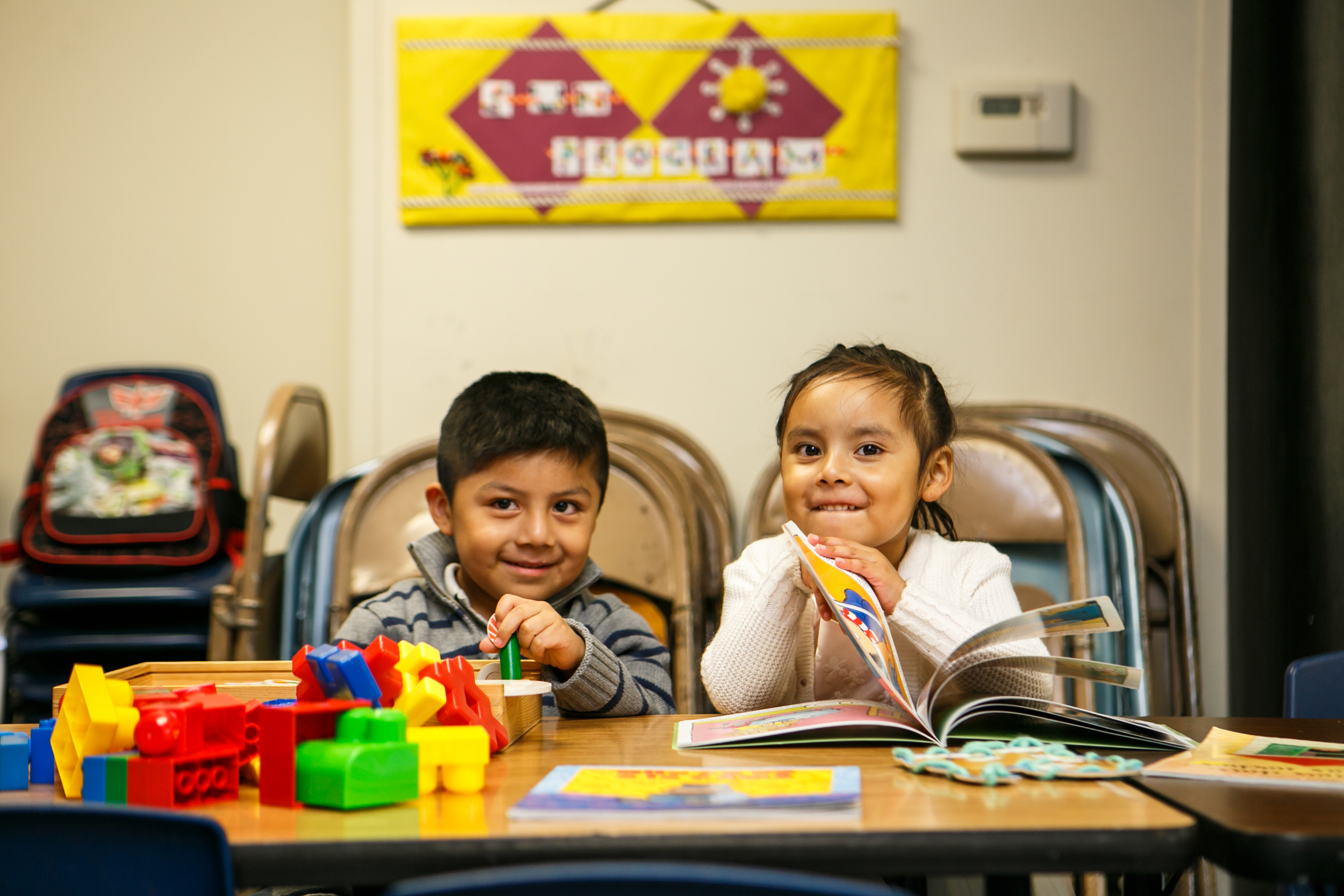 Our early childhood services prepare Latino children, birth to five, to be successful in school and to be proud of their heritage.