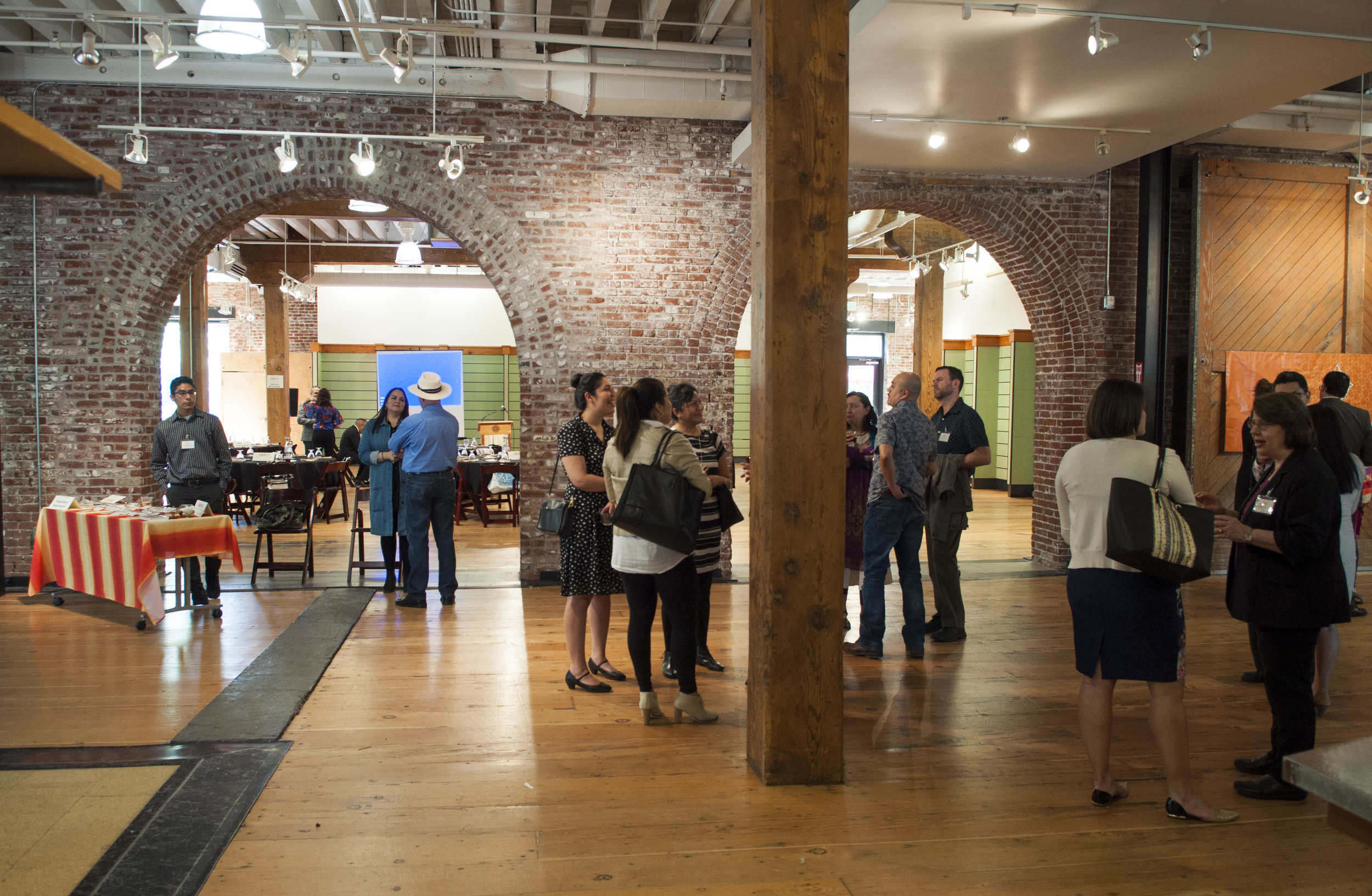 Thank you  Ecotrust  for letting us celebrate in your beautiful space!