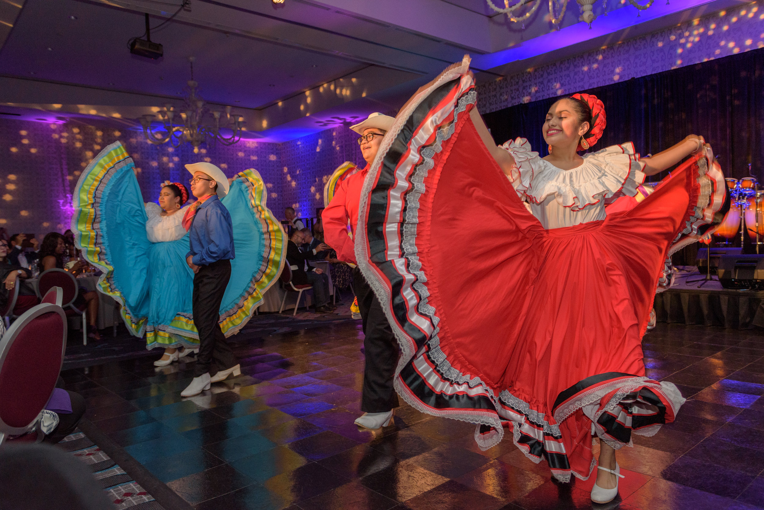 Our amazing Corazones Alegres youth dancers stole the show last Friday!