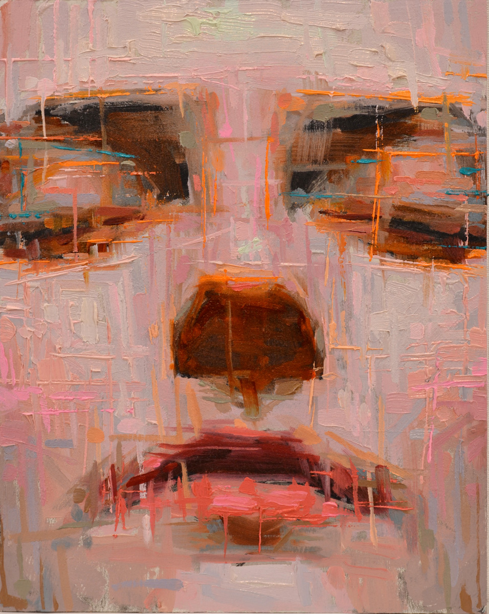 "Eric Pedersen ""04151989"" 10″x8″ Oil"