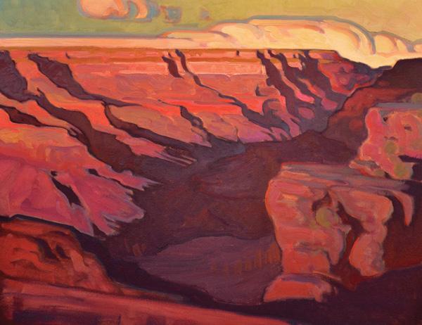 "Brett Allen Johnson, ""Southern Rhythm"", oil, 19 x 24."