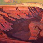 "Brett Allen Johnson ""Southern Rhythm""        oil, 19 x 24."