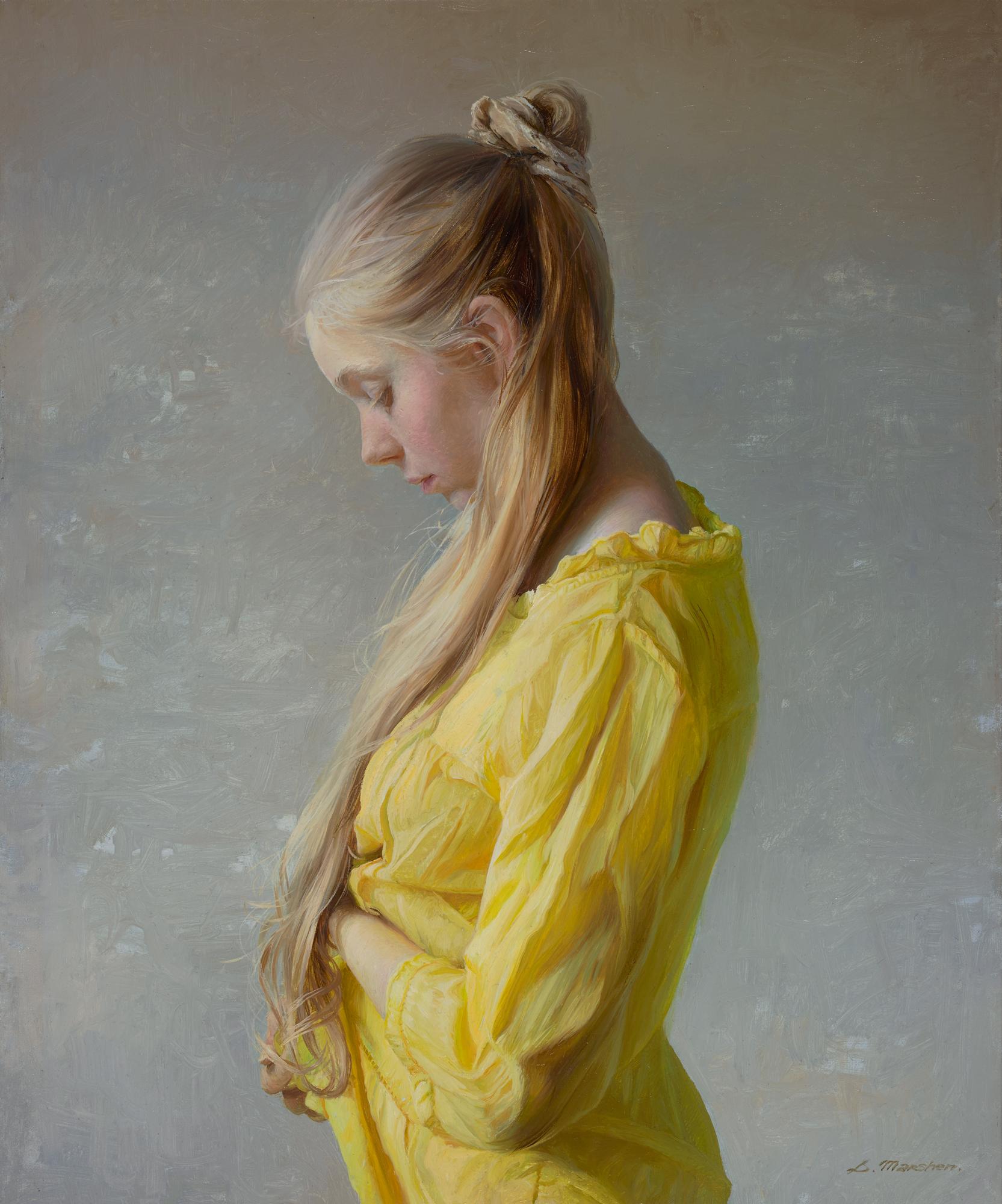 "Serge Marshennikov ""Lightness of Being"" 19""x16"" Oil"