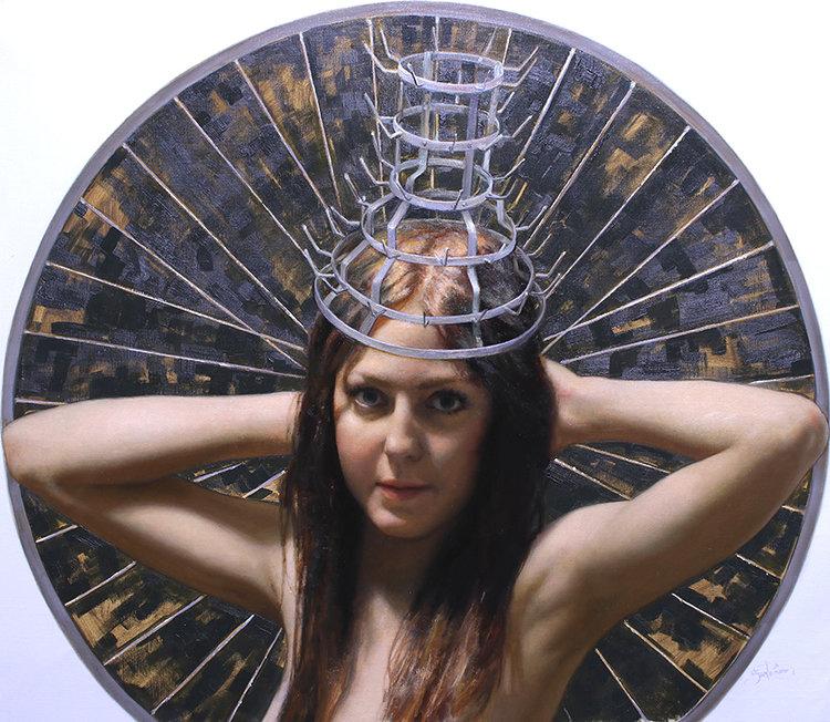 Cesar-Santos---Drying-Crown-Jewel,-oil-on-linen,-28x32in-web-17000.jpg