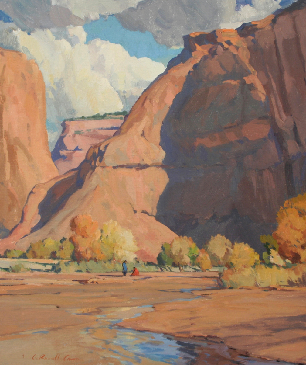 "(SOLD) ""Autumn Canyon"" 24""x20"" Oil"