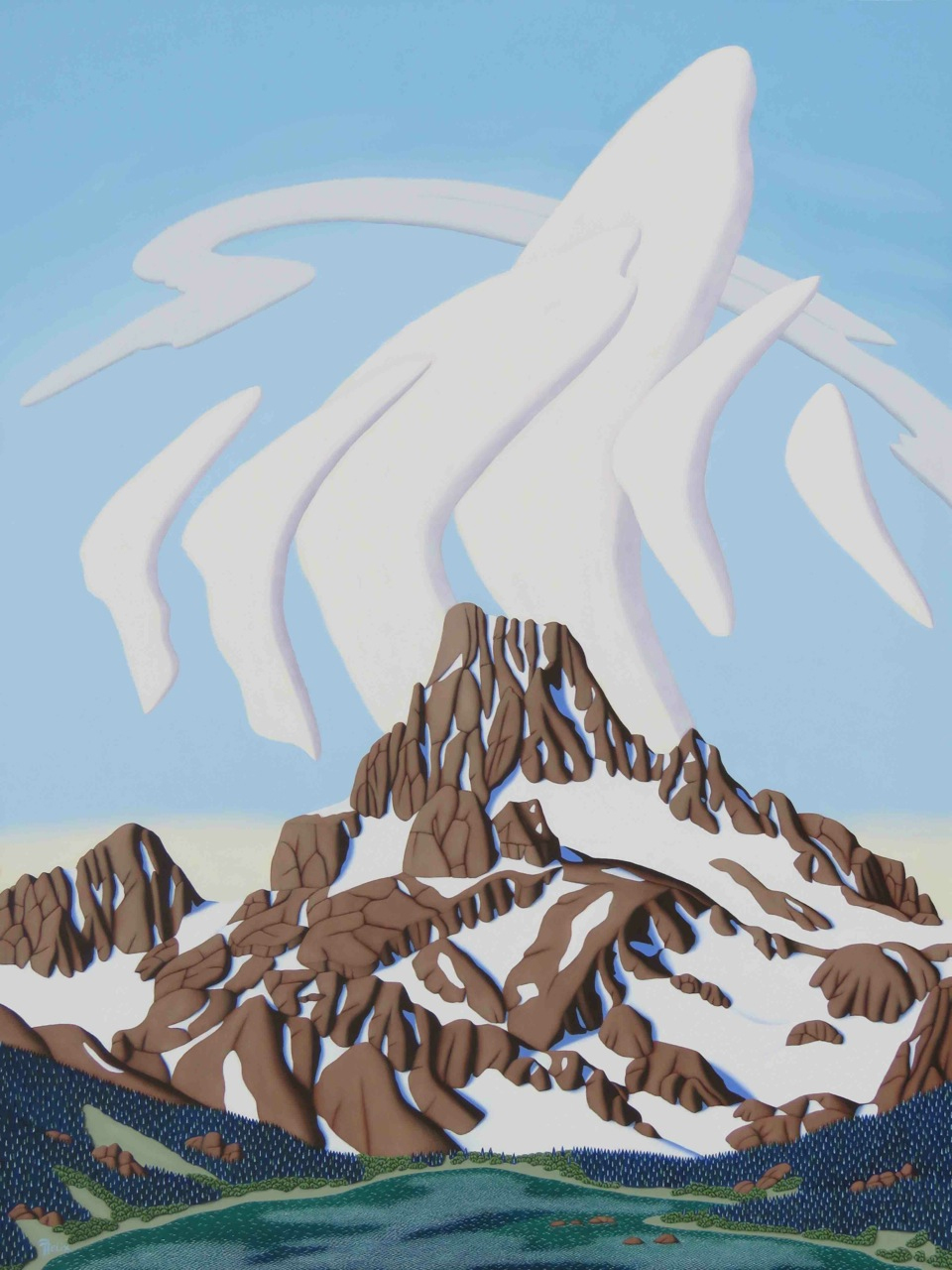 Felix-Banner-Peak,-Sierra-Vevada-Range-oil-on-panel-40'x30'LR.jpg