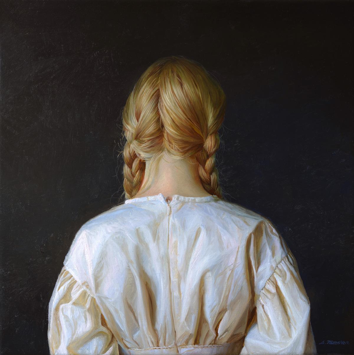 """(SOLD) Serge Marshennikov """"Passage of a Dream"""" 12""""x12"""" Oil"""