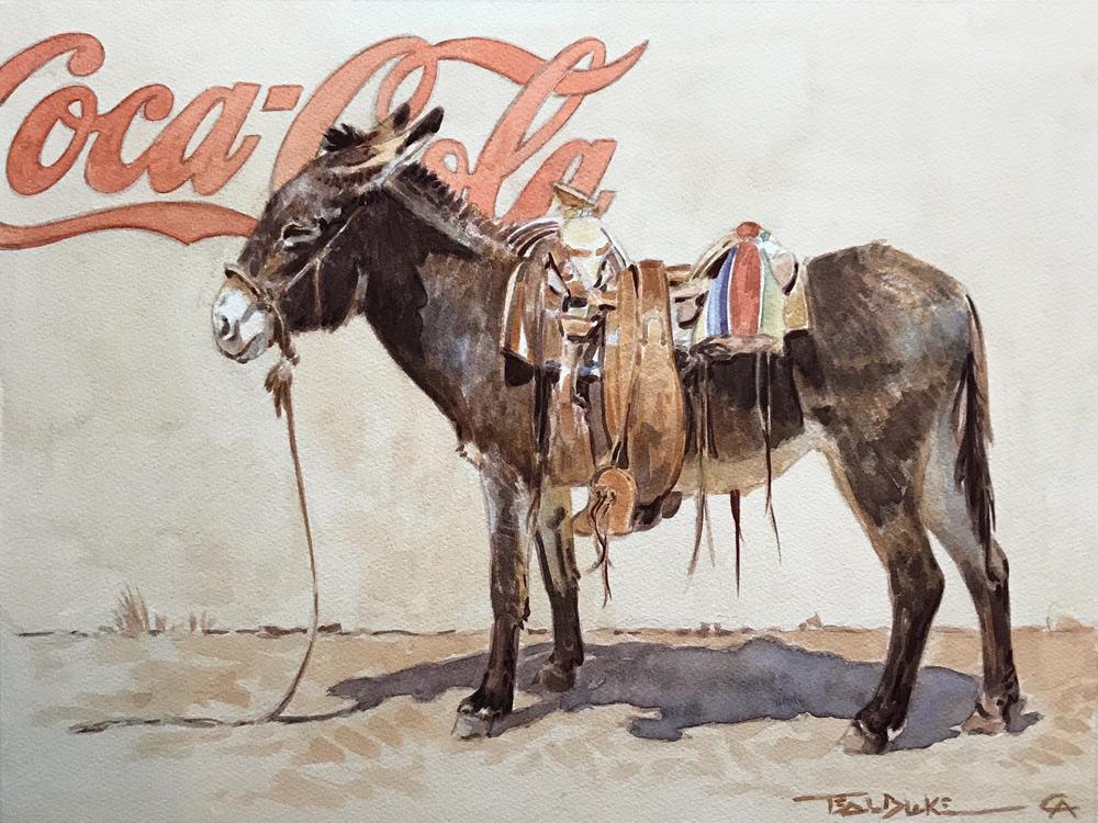 Blake,-Teal_'Cold-Drinks-Inside'_12x16_watercolor_$2750.jpg
