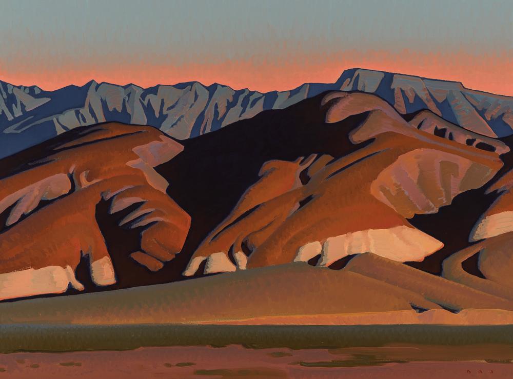 "(SOLD) ""Nevada Hills"" 18""x24"" Oil"
