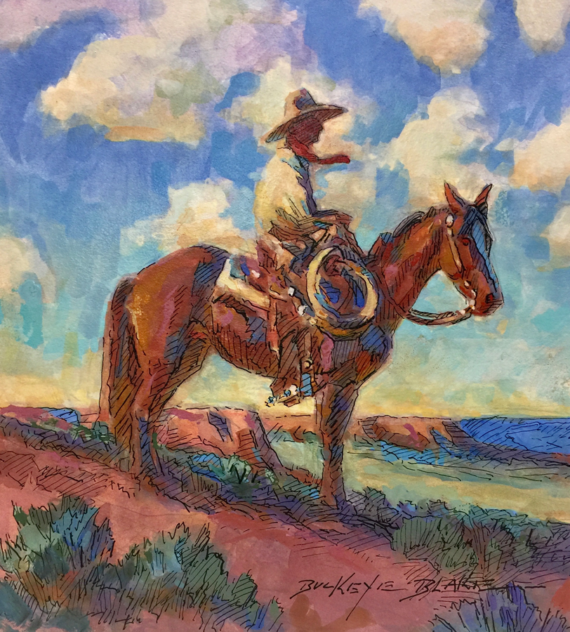 "(SOLD) Buckeye Blake ""South to Sonora"""