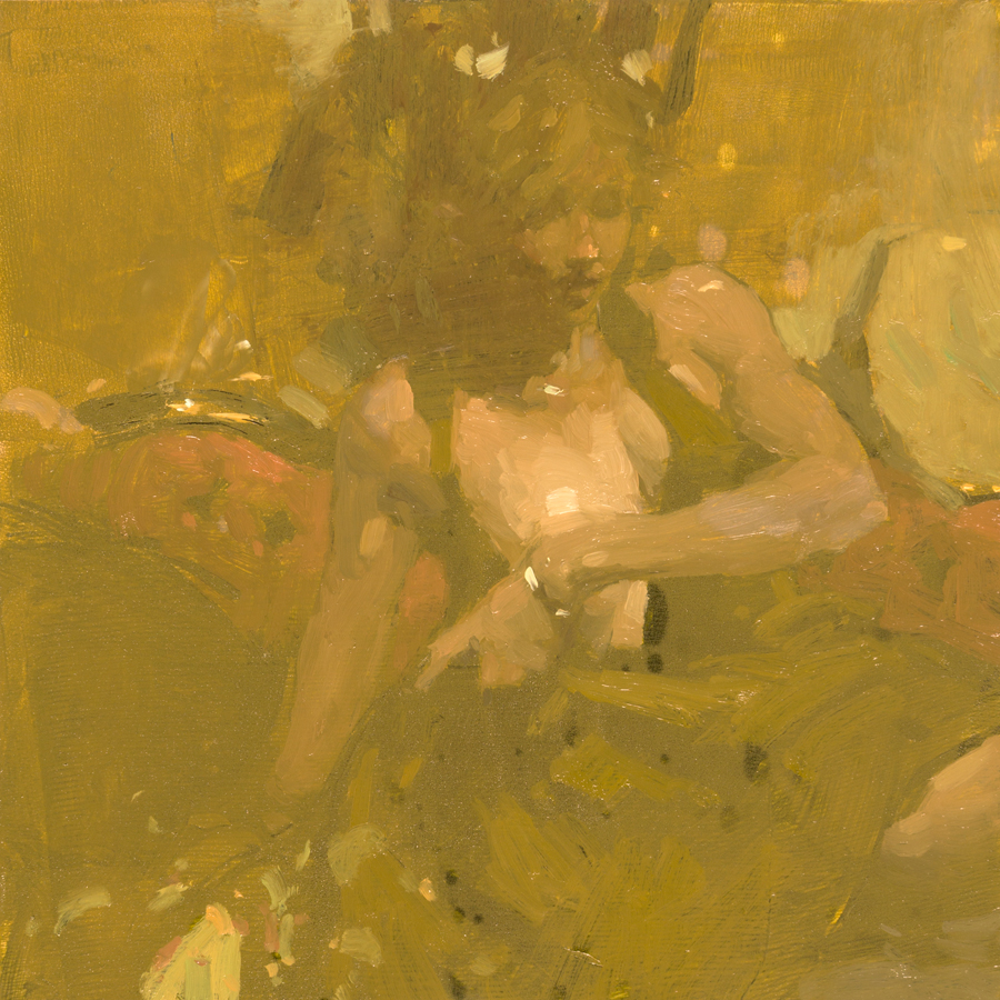 "(SOLD) Jeremy Mann ""Portrait Study #28"""
