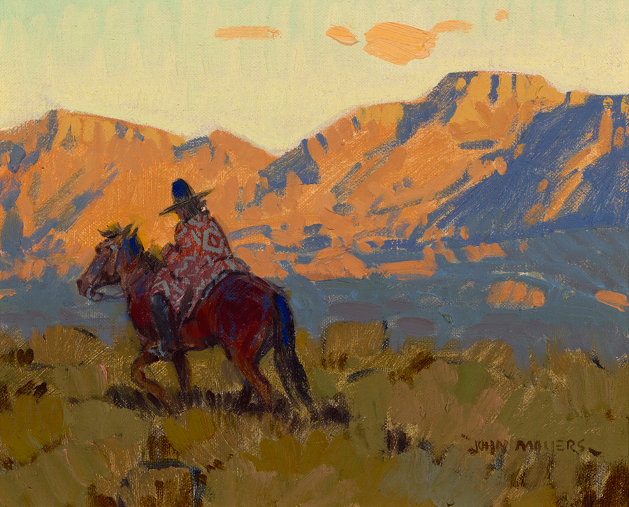 "(SOLD) John Moyers ""Navajo Rider"""