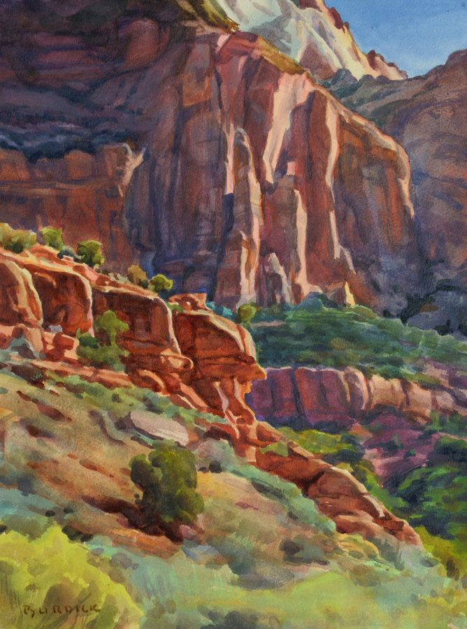 "Scott Burdick ""Capitol Reef"""