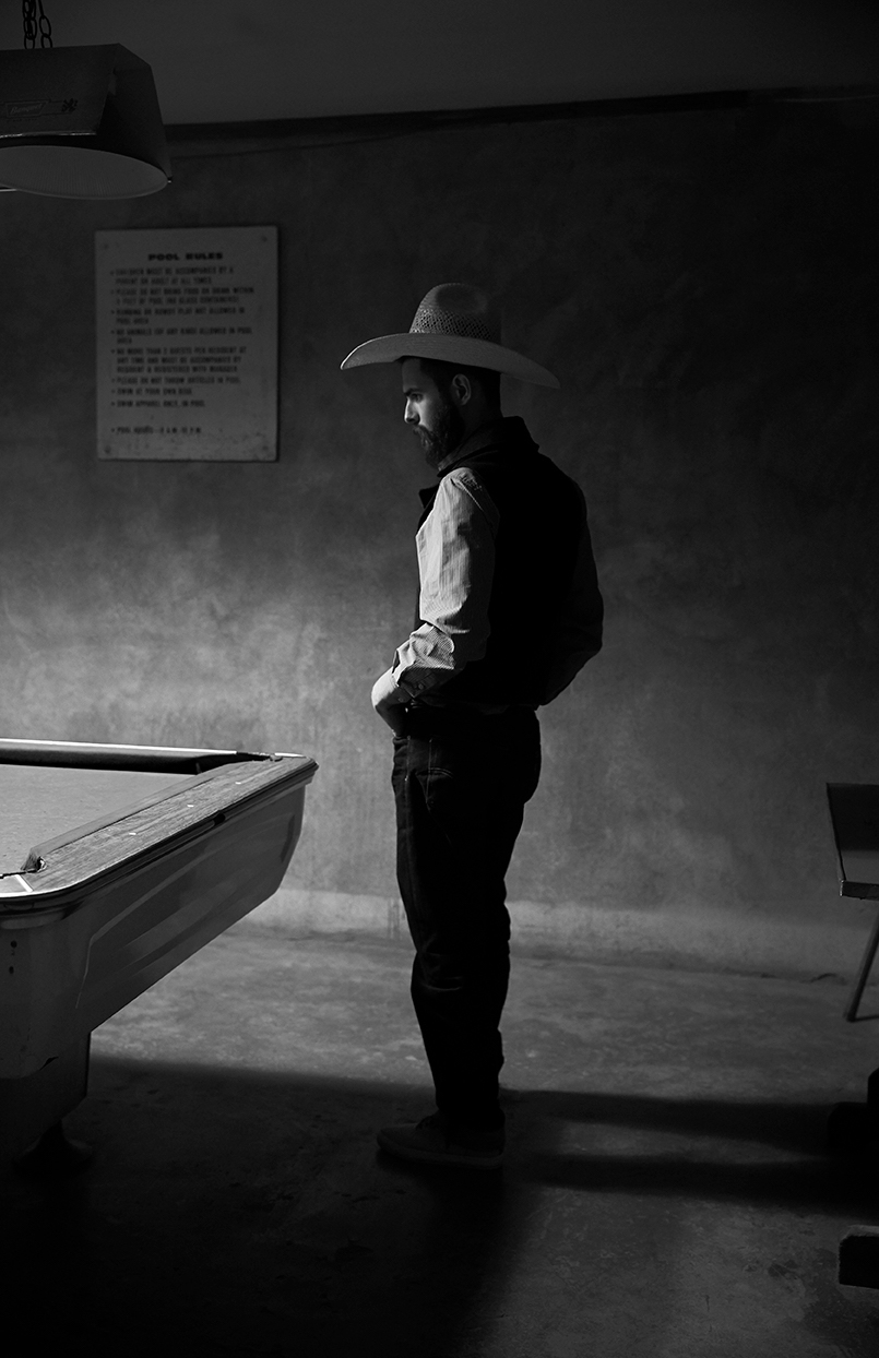 "Scott Slusher ""The Pool Hall Cowboy"""