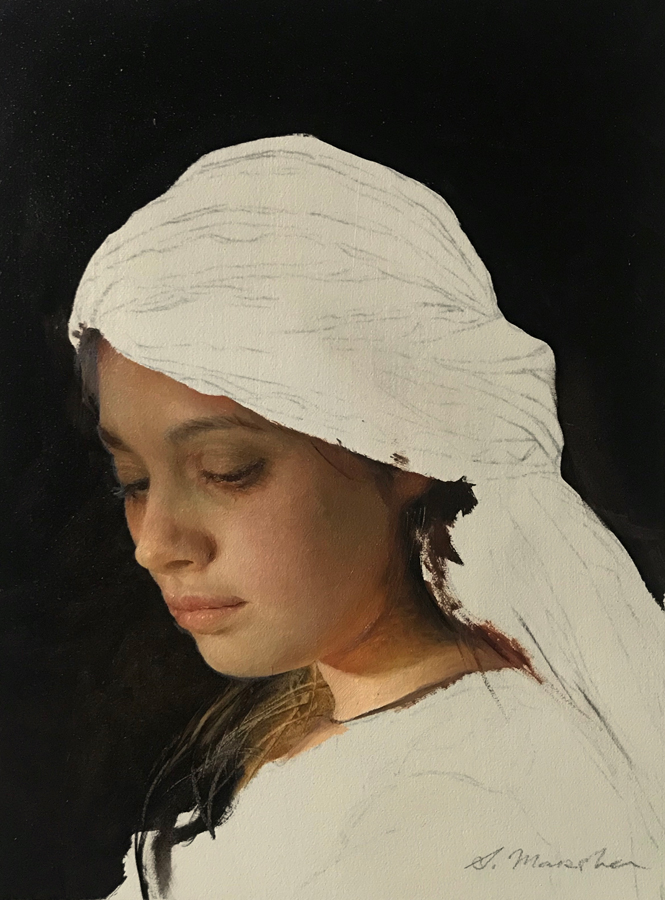 "(SOLD) Serge Marshennikov ""Thoughts"""