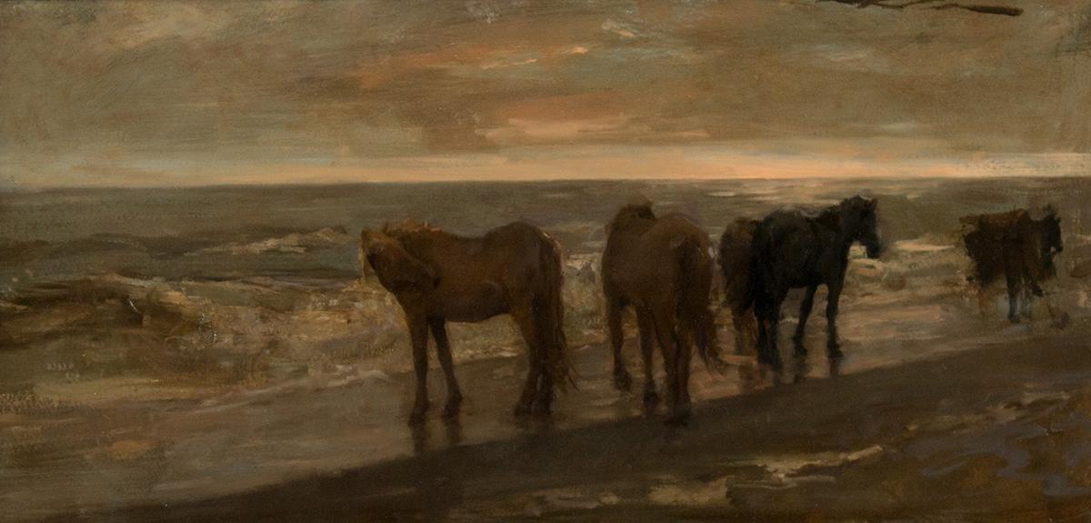 """Sunset Study"" 8""x16"" Oil"