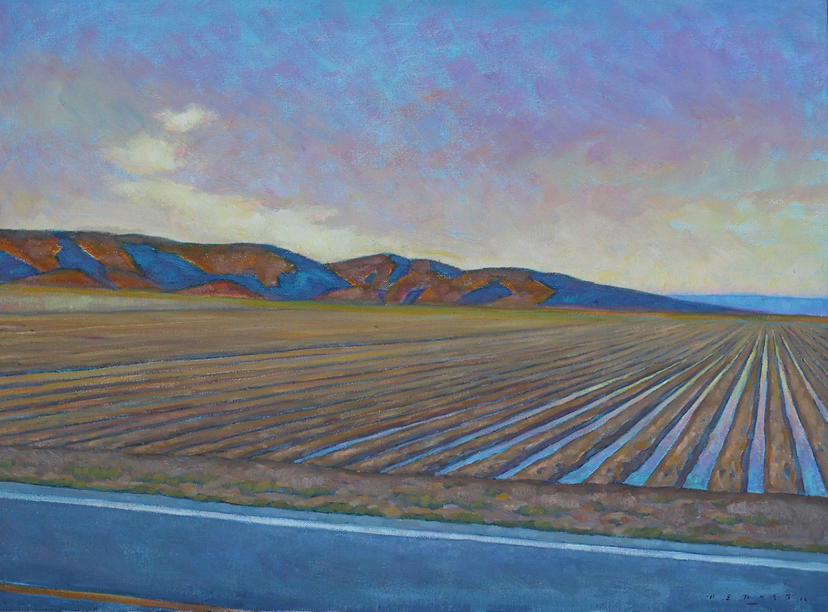 "Howard Post ""Farming Out West"" 18""x24"" Oil"