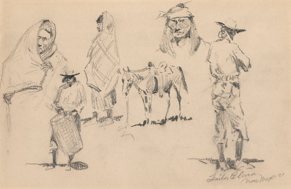 """Study of Western Figures, No. 2"""