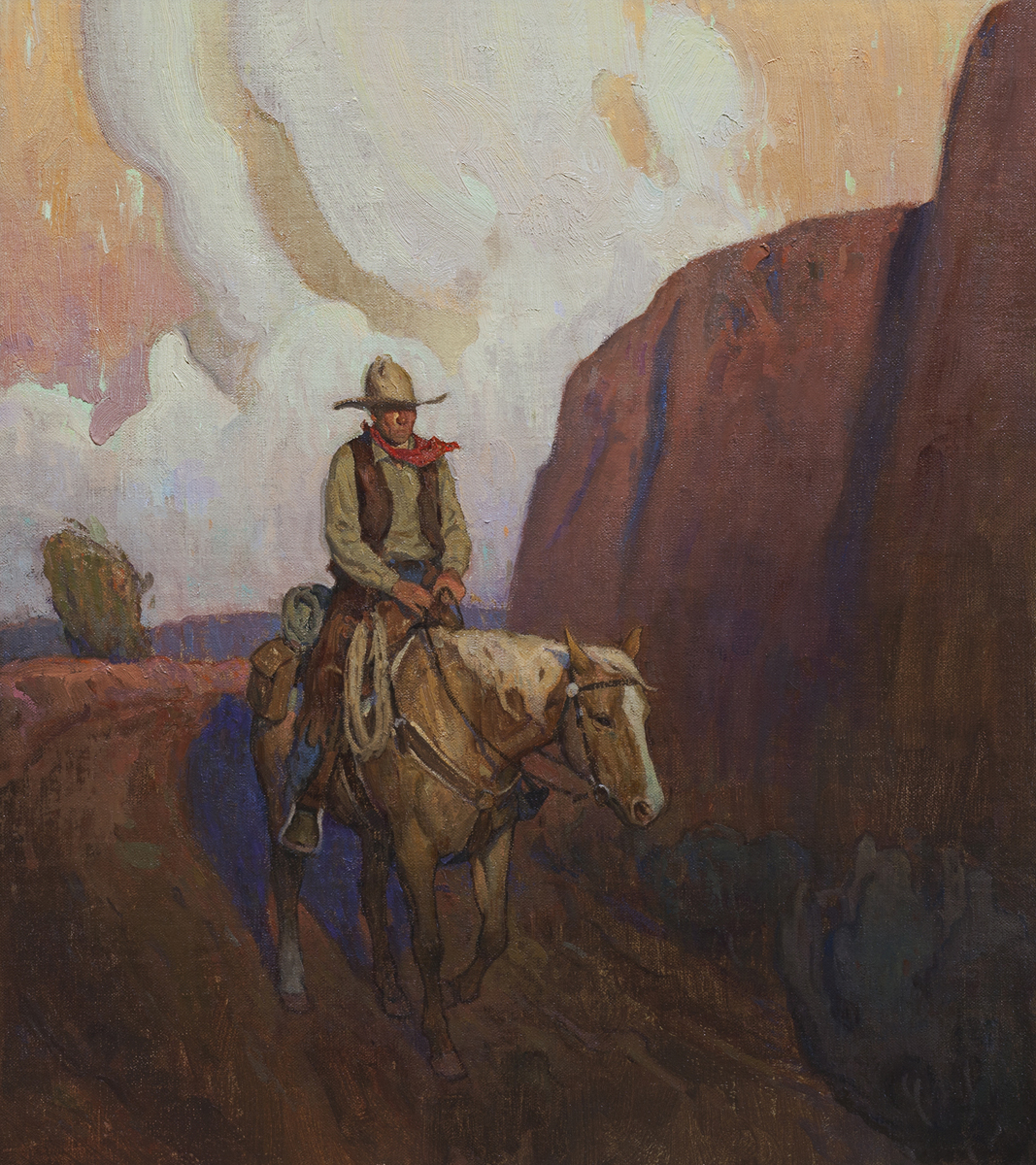 "(SOLD) Lonesome Journey"" 18""x16"" Oil"