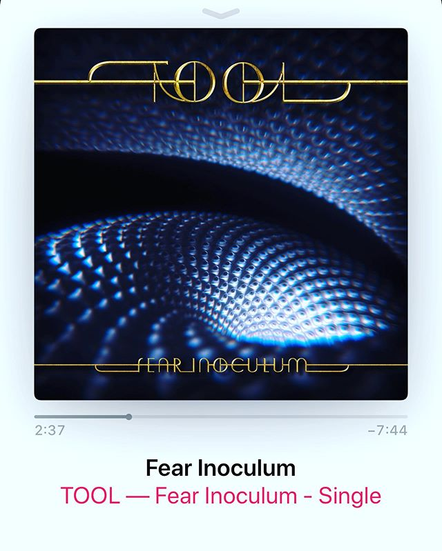 👏👏👏 ❤️ 🎸 🔊🥁 🎤 ❤️👏👏👏 Not a fucking test, I repeat- This is not a fucking test! Thank you, @tooltheband !!! #tool #tooltheband #fearinoculum #toolband #newmusic