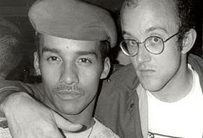 Keith Haring & Friend , NYC