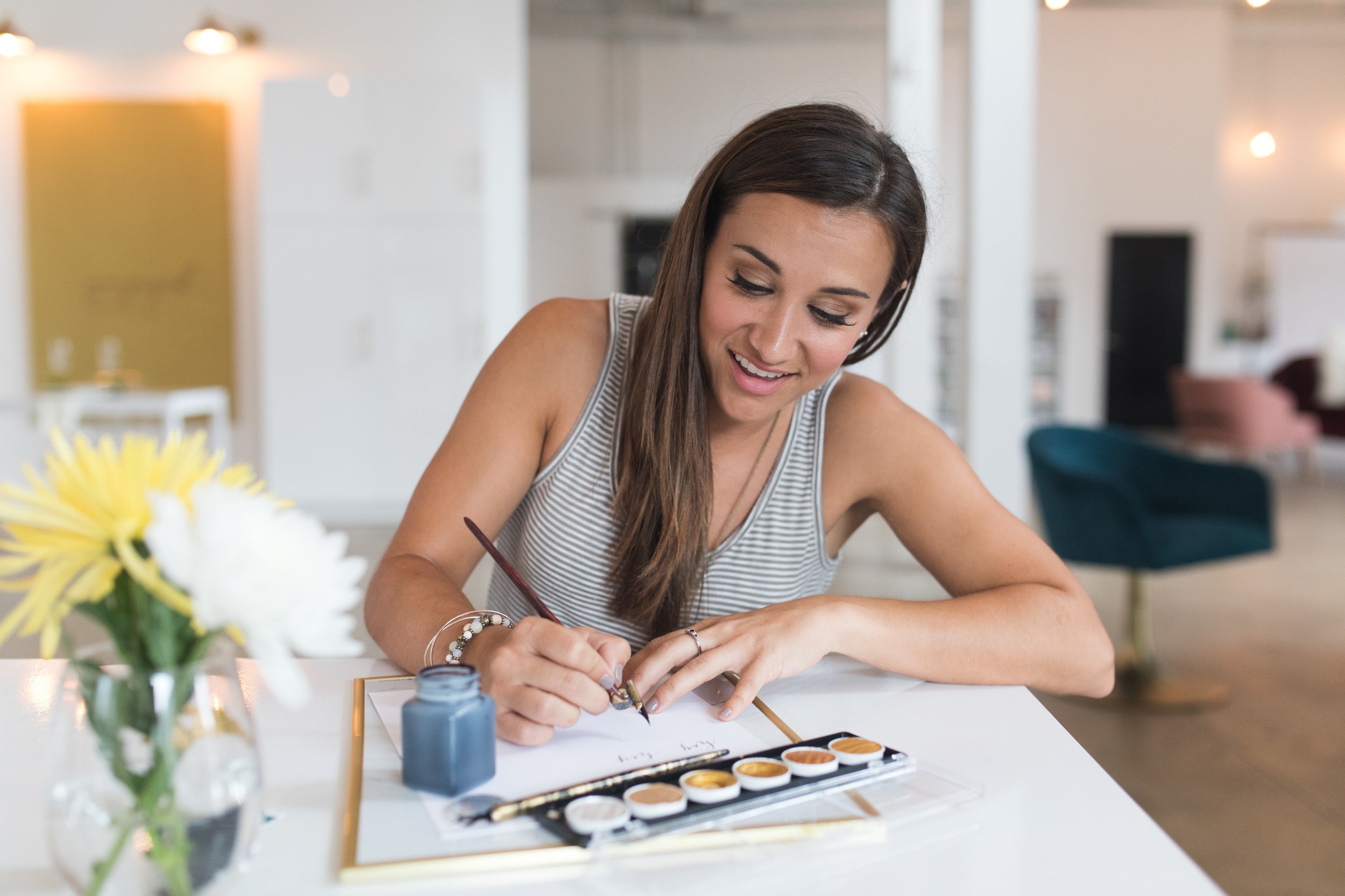 ULTIMATE GUIDE TO WEDDING CALLIGRAPHY - Joy Unscripted was featured on Engaged Asheville's Blog