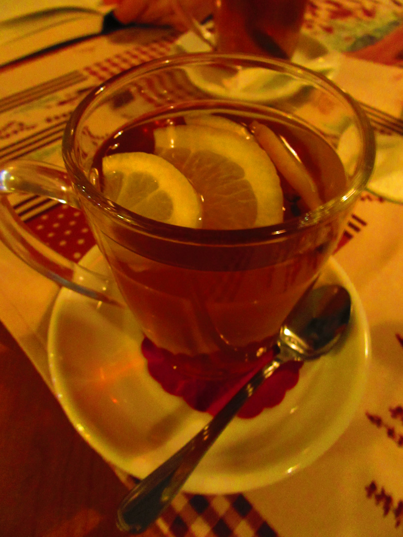 Enjoying my second Winter Tea in Zakopane, Poland after seeing it on another menu and realizing this is a thing.