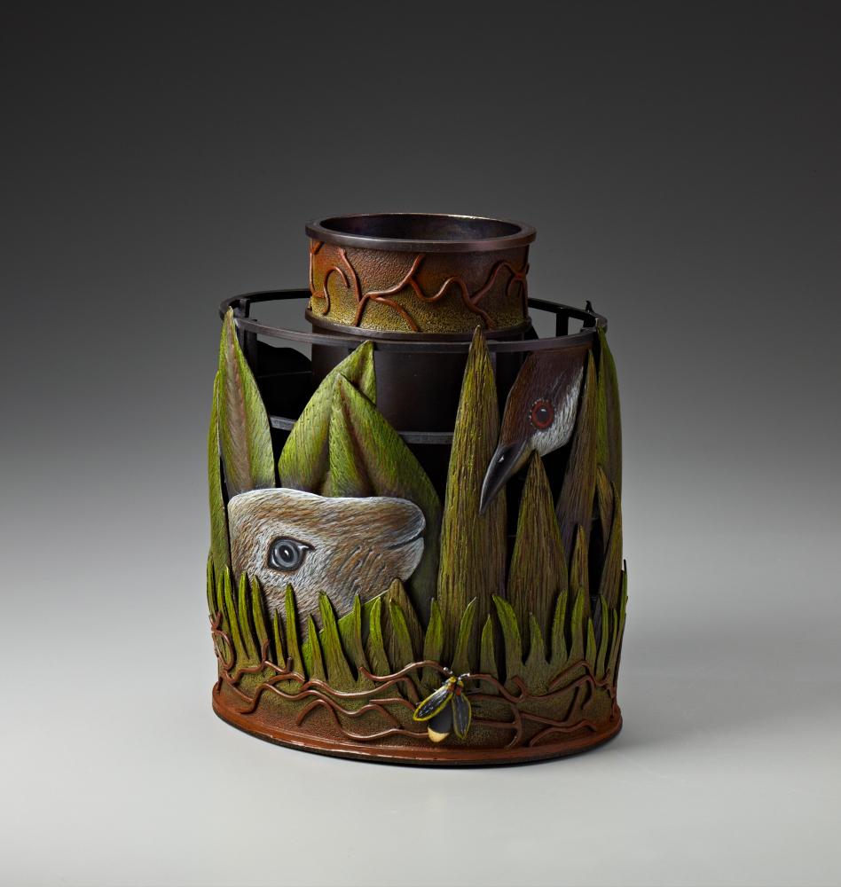 Night Garden Vase