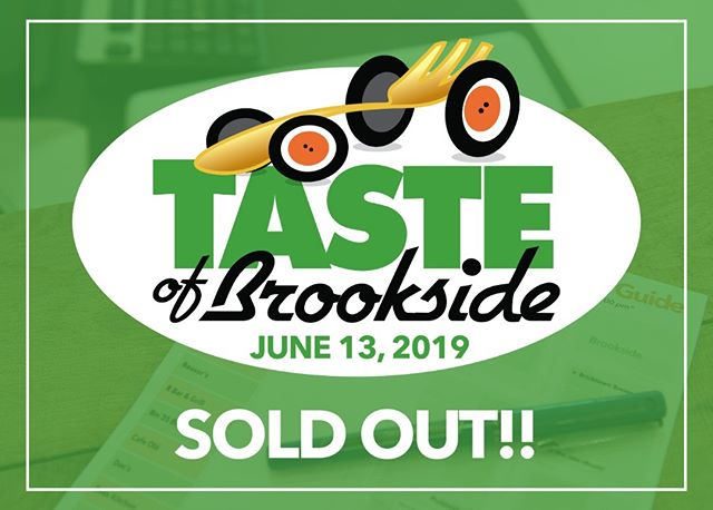 "Thanks to your support, Taste of Brookside 2019 has sold out!! Registration opens at 5:30PM on the patio of Blue Moon Cafe. Bring your ID, an empty stomach, and walking shoes. We will see you there!  Don't forget: Voting ballots for ""Best Dish"" and ""Best Drink"" are due back at registration by 9:15PM for your chance to win a $75 In The Raw Brookside Gift Card!  Our final list of participating businesses:  Bricktown Brewery Brookside Tulsa Cafe Olé Brookside Charleston's Restaurant Cosmo Cafe And Bar KEO Mondo's Ristorante' Italiano on Brookside Ol'Vine Fresh Grill Oren Nobilitea R Bar & Grill-Tulsa Reasor's Shades of Brown Tropical Smoothie Cafe Torchy's Tacos Martini & Rossi Tasting Station  Thanks to our sponsors: Tulsa's Channel 8 - KTUL QuikTrip The Anne & Henry Zarrow Foundation Schusterman Family Foundation  Special thanks to blue moon cafe & The Haley Boutique - Tulsa"