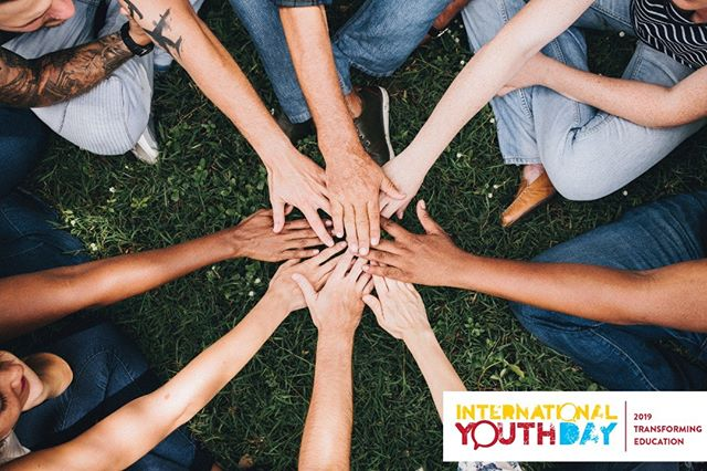 Today is #internationalyouthday  On this day we celebrate youth of all diversities while raising awareness on education and help uplift young adults everywhere!