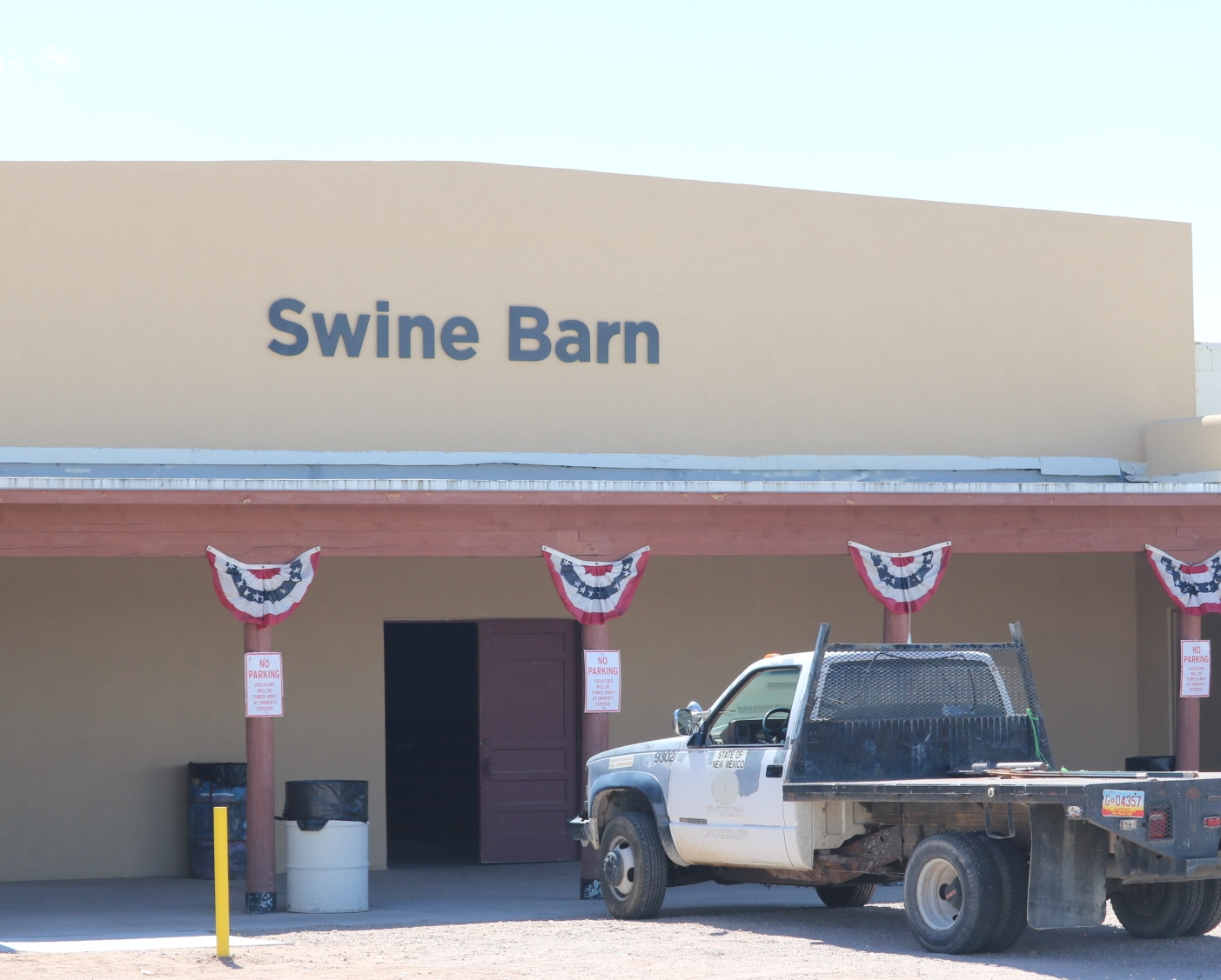 """Take the letters from both ends of """"Swine Barn,""""and you get """"Wine Bar""""..."""
