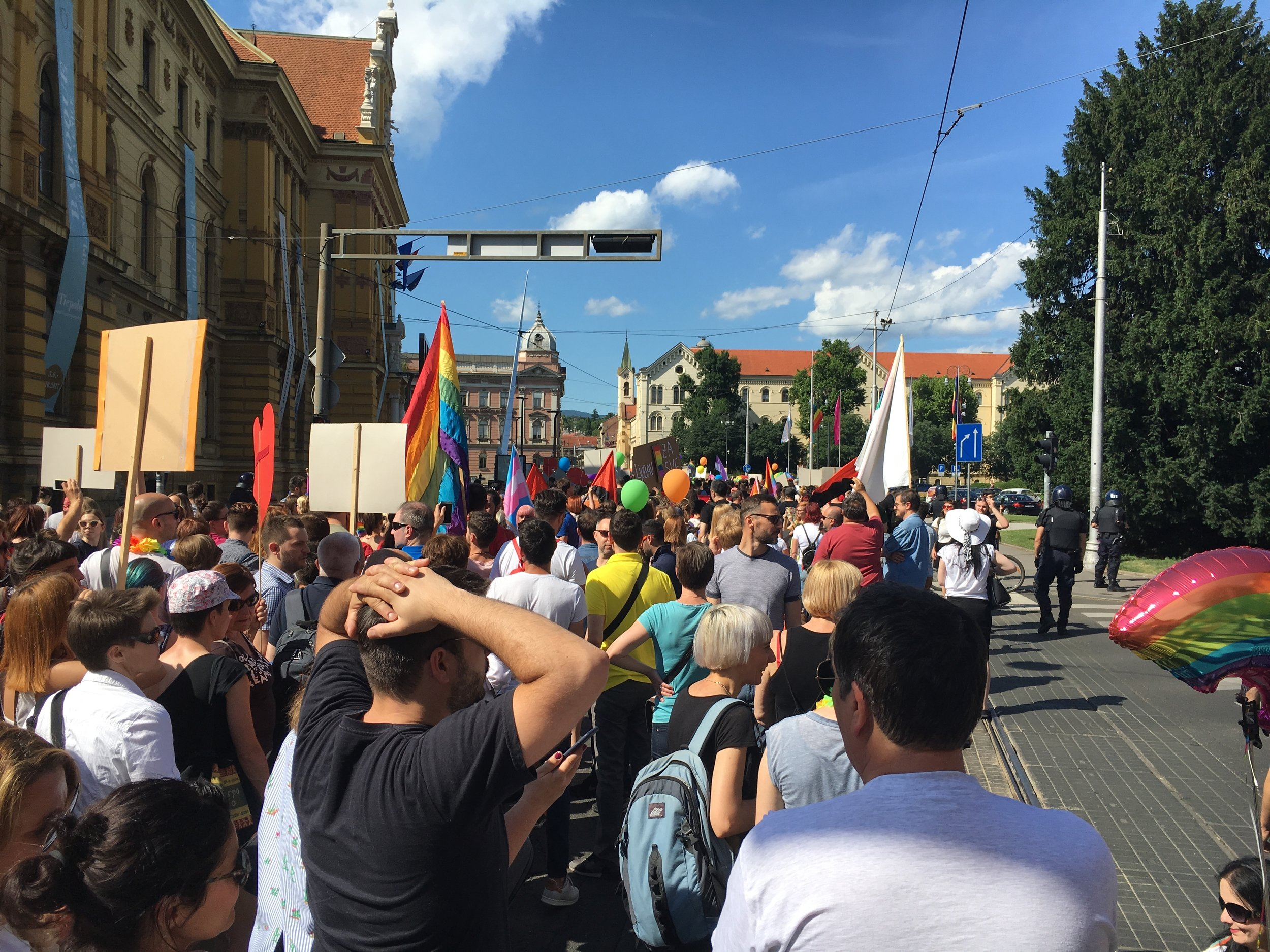 Zagreb Pride March, June 2017
