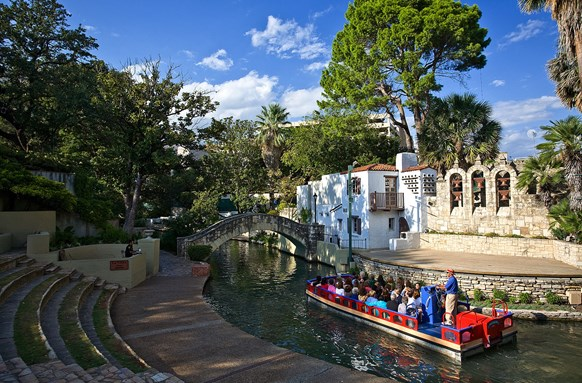San Antonio Riverwalk at Arneson River Theatre