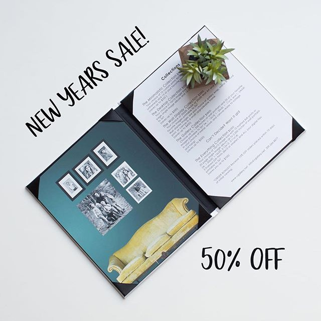 Photographers, make 2019 your BEST YEAR EVER! Restructure your pricing and sales process to sell more wall portraits using our design appointment ruler and price list menus. 50% OFF with code: 2019 www.vgalleryhaven.com Link in bio. #photographers #sales #wallportraits #pricelists #templates