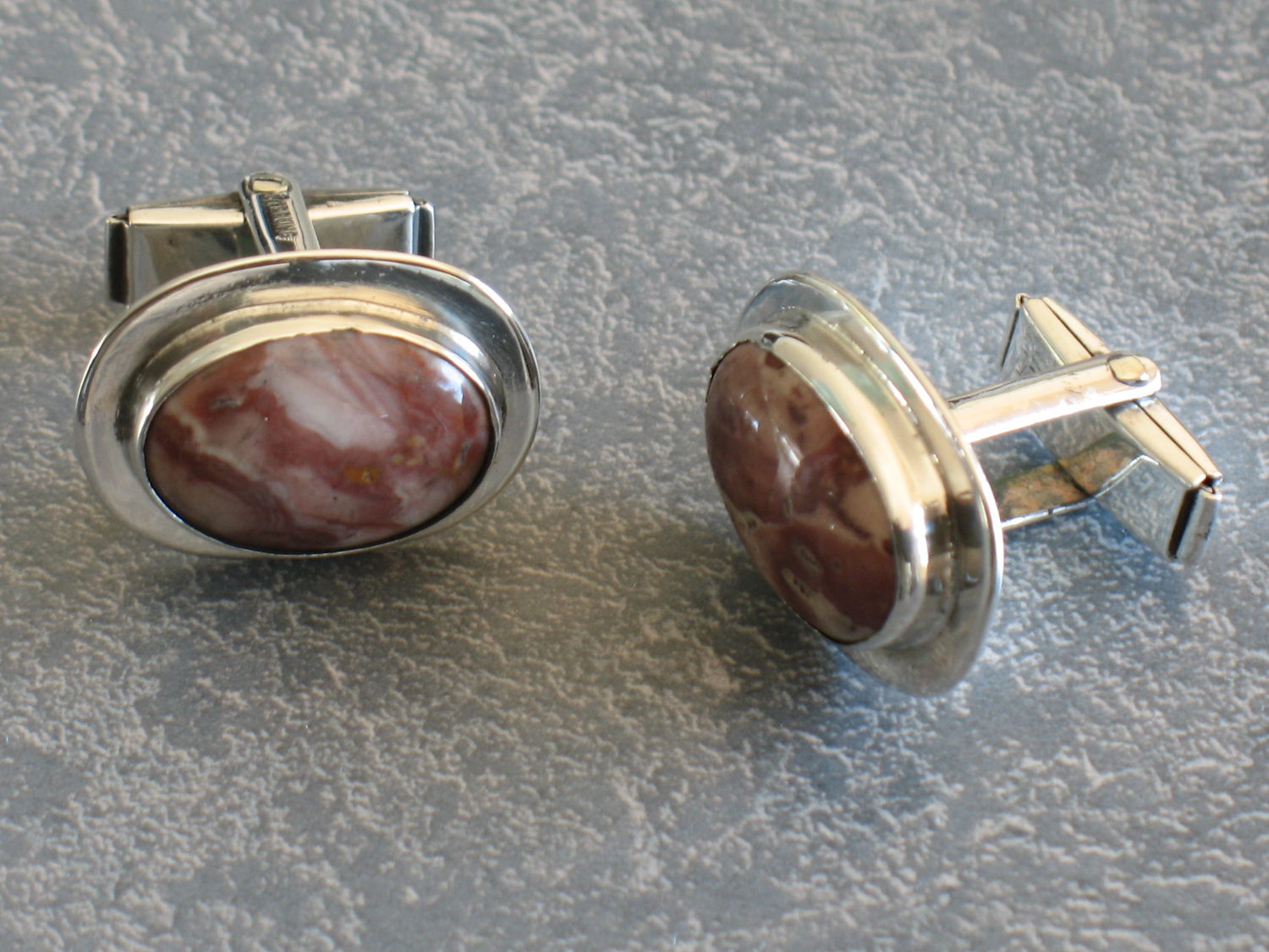 Sterling silver cufflinks repaired