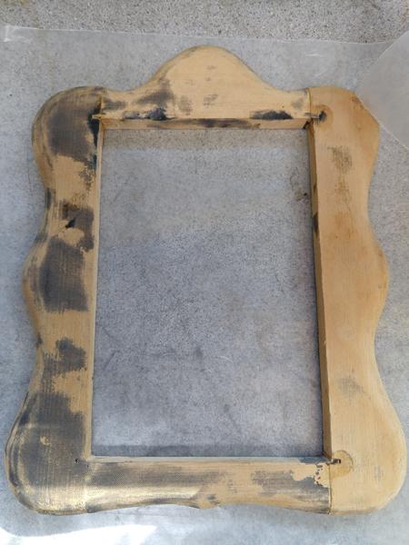 frame glued together