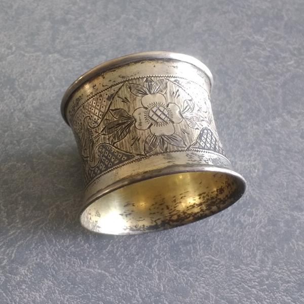 Antique german napkin ring