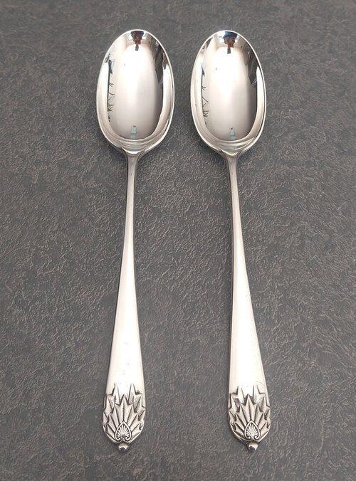 Antique English spoons restored