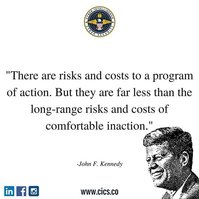 It is more costly to be reactive than proactive. Visit us on www.cics.co to learn about how CICS can save your organization by being proactive. Happy Friday!  #CICS #cybersecurity #infosec #proactivevsreactive