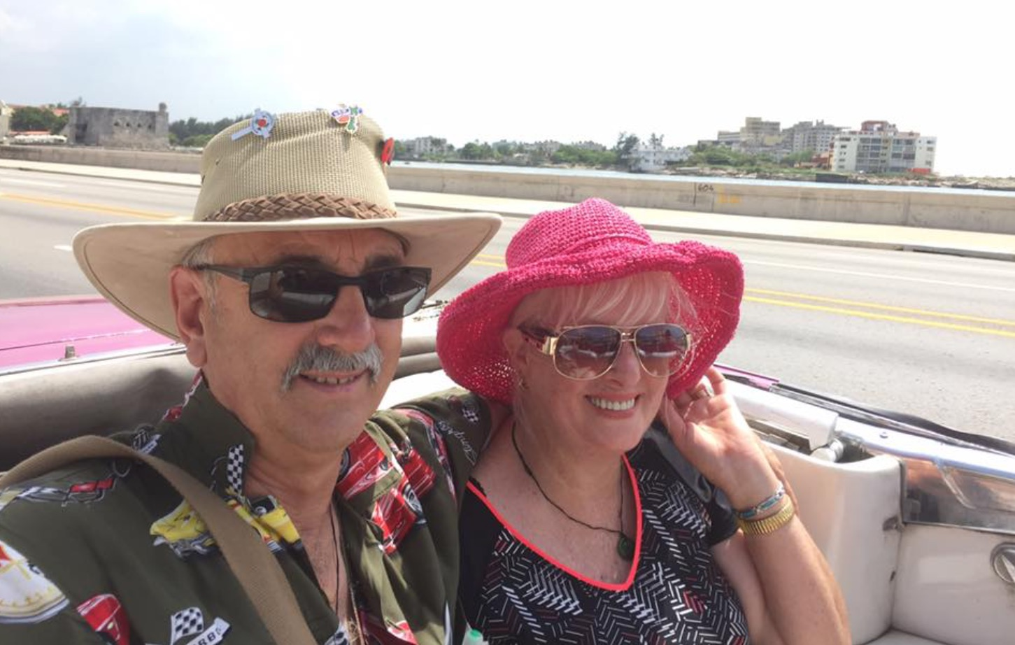Meet Kevin... - ...and his fab wife Vonda. Kevin is one of our amazing contributors and, in 2017,cruised to some amazing places. We thought we'd share the highlights.